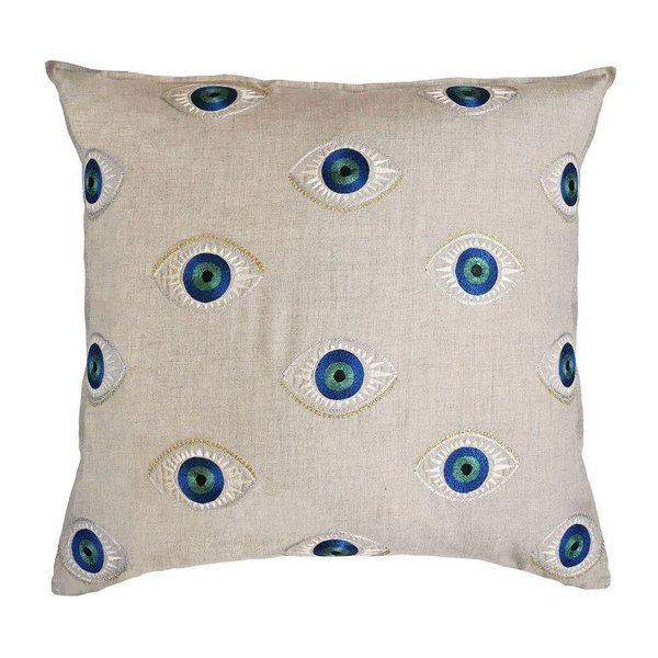 Coral & Tusk - Evil Eye Pillow - Lekker Home