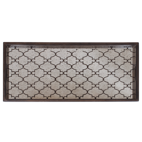 Notre Monde - Gate Rectangular Tray - Default - Lekker Home