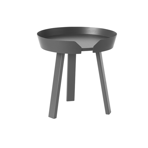 Muuto - Around Coffee Table - Anthracite / Small - Lekker Home