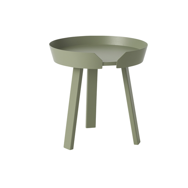 Muuto - Around Coffee Table - Dusty Green / Small - Lekker Home