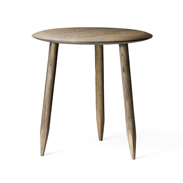 &Tradition - Hoof Side Table - Smoked Oiled Oak / One Size - Lekker Home