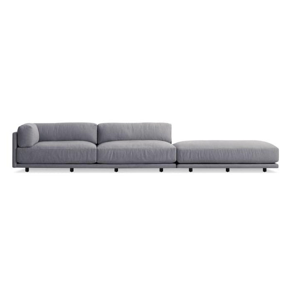 Beau ... Blu Dot   Sunday Long And Low Sectional Sofa   Lekker Home ...