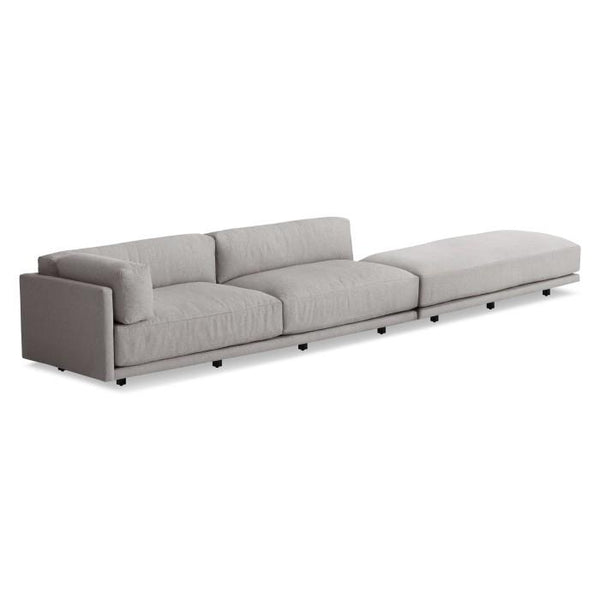 Blu Dot - Sunday Long and Low Sectional Sofa - Lekker Home