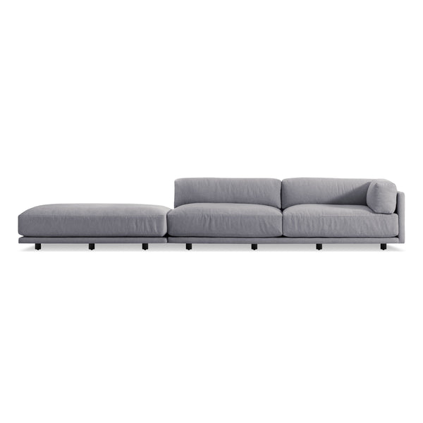 Superior Blu Dot   Sunday Long And Low Sectional Sofa   Lekker Home ...