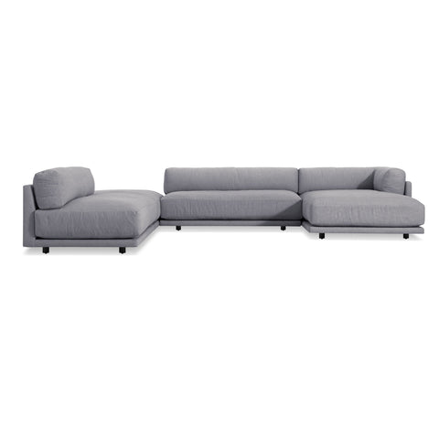 Blu Dot - Sunday J-Shaped Sectional Sofa - Lekker Home