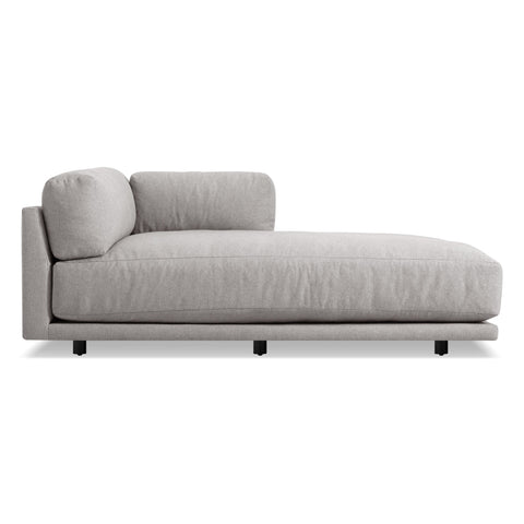 Blu Dot - Sunday Chaise - Agnew Grey / Right - Lekker Home