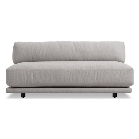 Blu Dot - Sunday Armless Sofa - Agnew Grey / One Size - Lekker Home