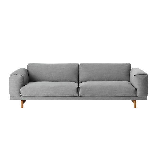 Muuto - Rest Sofa - Steelcut Trio 133 / 3 Seater - Lekker Home