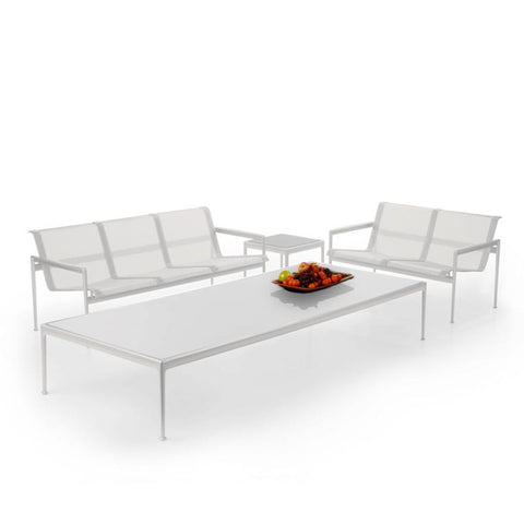 Knoll - 1966 Three Seat Lounge - Plum/White / One Size - Lekker Home