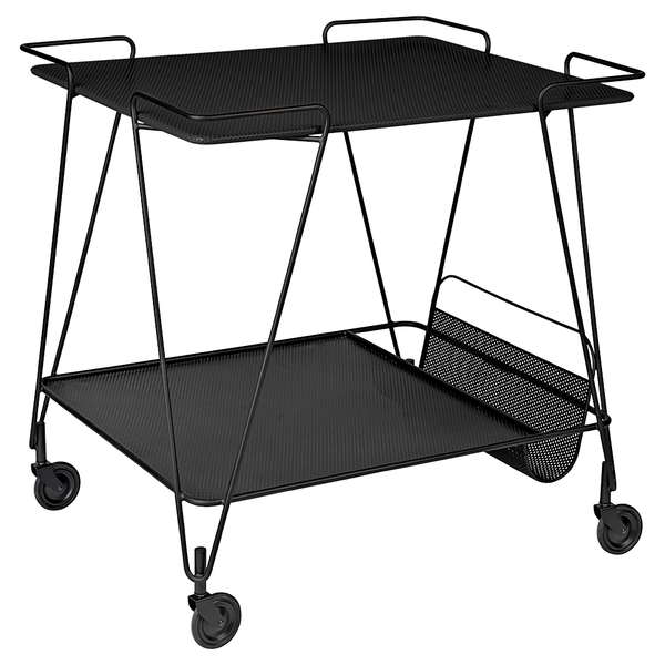 GUBI - Matégot Trolley - Soft Black / One Size - Lekker Home