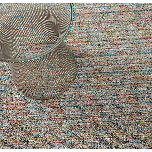 Chilewich - Skinny Stripe Shag Indoor/Outdoor Mat - Lekker Home