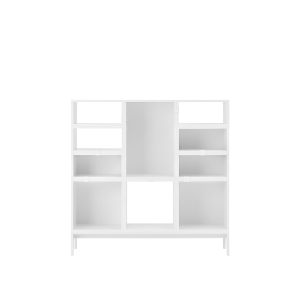 Muuto - Stacked Storage System - Oak / Solution 4 - Lekker Home