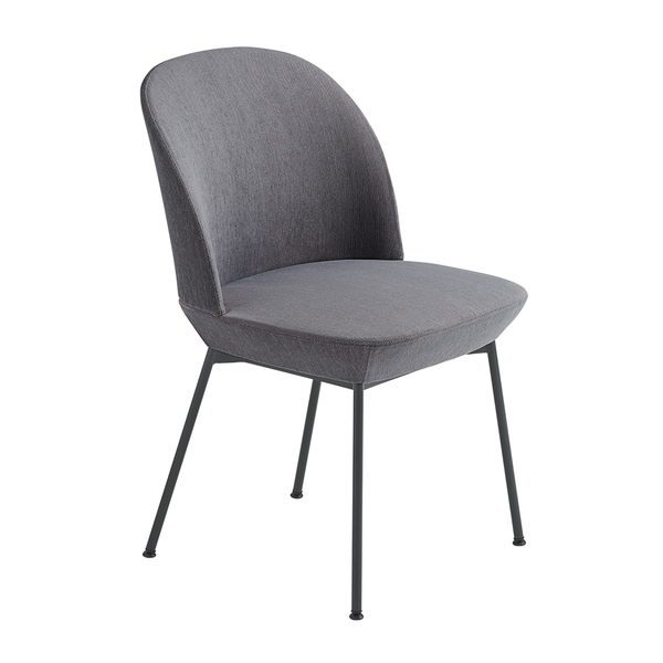 Muuto - Oslo Side Chair - Still 161 / Anthracite / One Size - Lekker Home