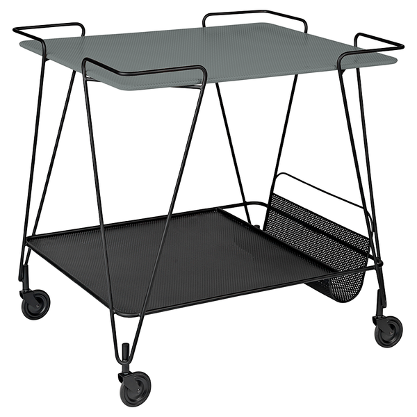 GUBI - Matégot Trolley - Stone Grey / One Size - Lekker Home