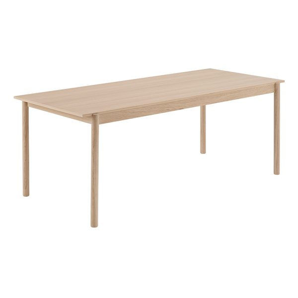 "Muuto - Linear Wood Table - Oak / 78.7"" - Lekker Home"