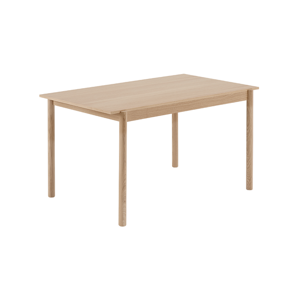 "Muuto - Linear Wood Table - Oak / 55.1"" - Lekker Home"