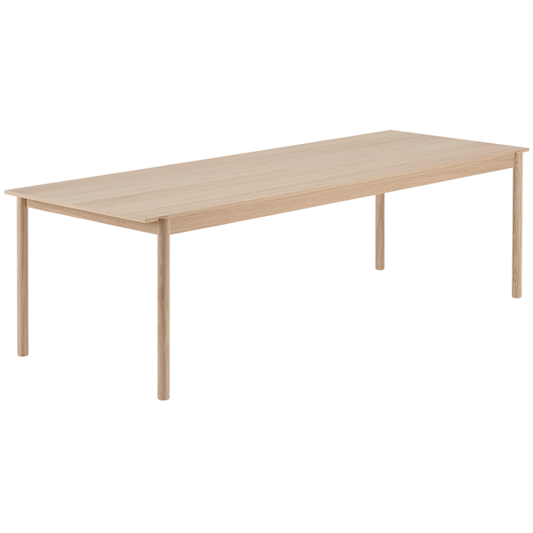 "Muuto - Linear Wood Table - Oak / 102.4"" - Lekker Home"