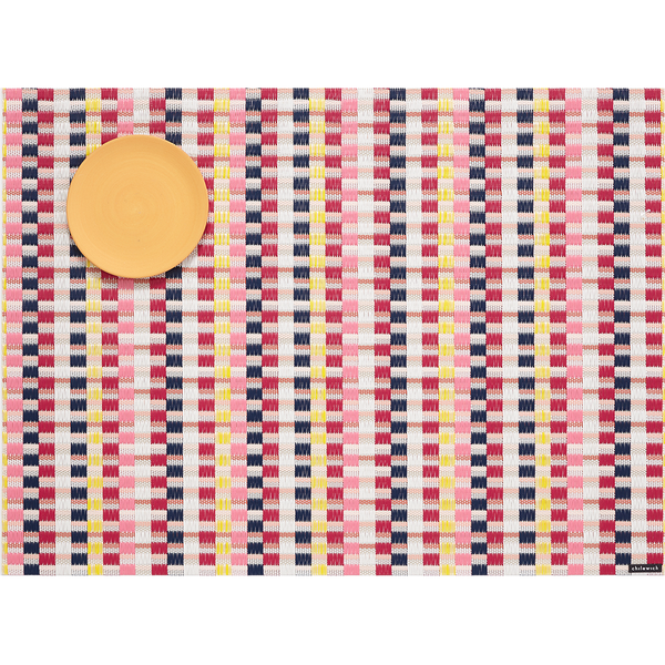 Chilewich - Heddle Placemat - Pansy / One Size - Lekker Home