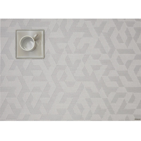 Chilewich - Prism Placemat - Silver / One Size - Lekker Home