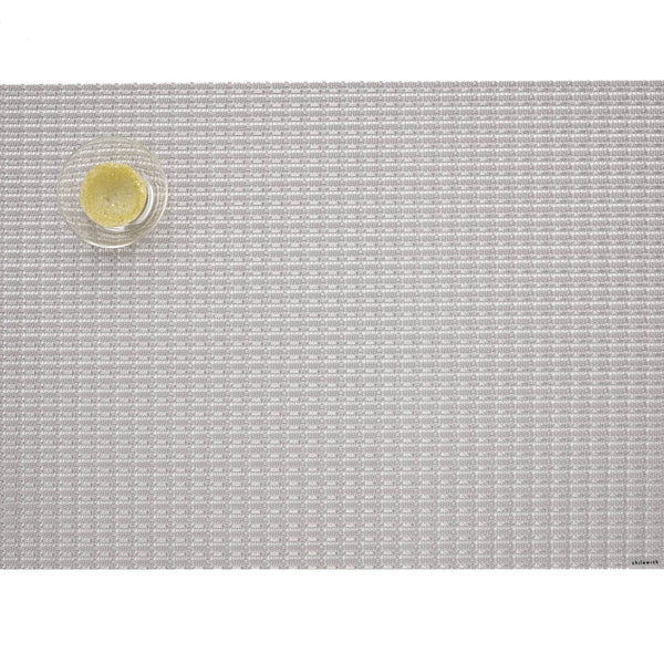 Chilewich - Trellis Placemat - Silver / Rectangle - Lekker Home