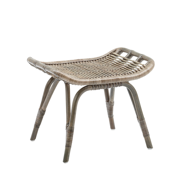 Sika Design - Monet Footstool - Taupe / One Size - Lekker Home