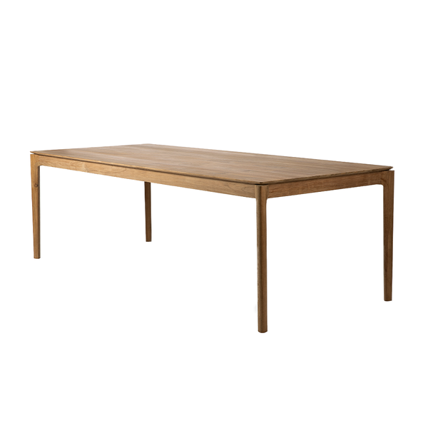 "Ethnicraft NV - Bok Dining Table - Teak / 94"" - Lekker Home"