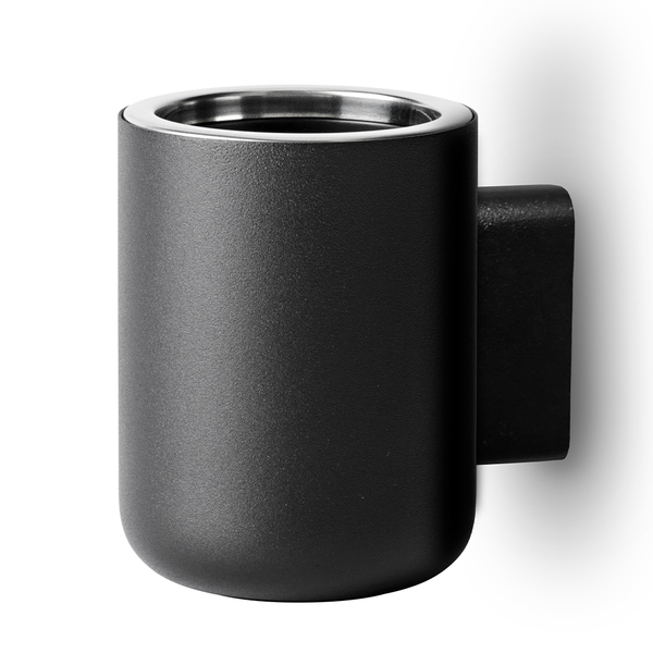 Menu A/S - Toothbrush Holder - Black / Wall - Lekker Home