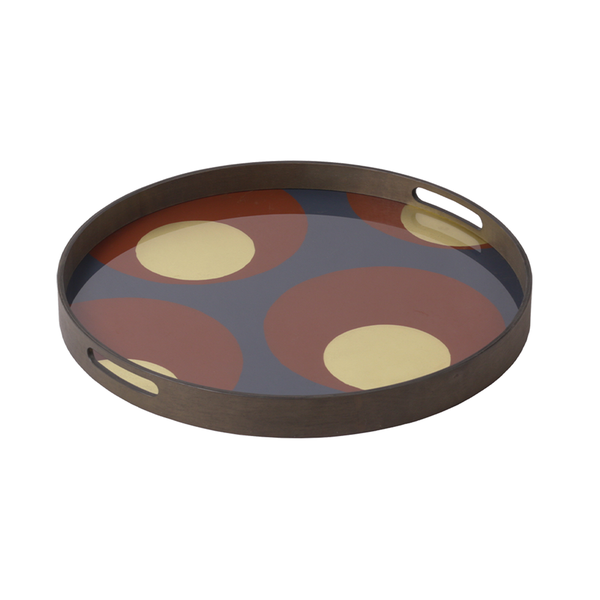 Ethnicraft NV - Turkish Dots Tray - Lekker Home