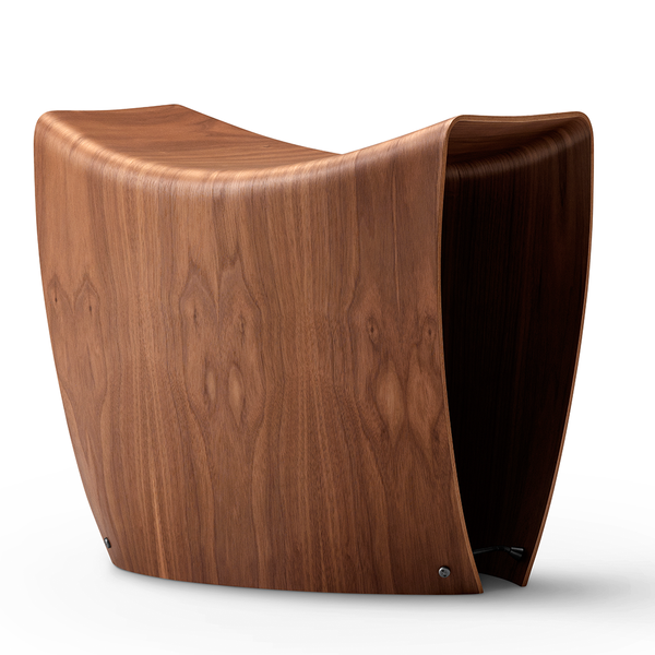 Fredericia - Gallery Stool - Walnut / One Size - Lekker Home