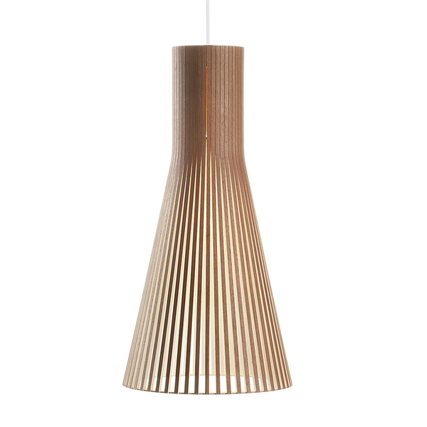 Secto Design - Secto 4200 Pendant - Walnut Veneer / One Size - Lekker Home