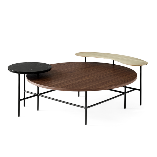 &Tradition - JH25 Palette Lounge Table - Walnut / One Size - Lekker Home