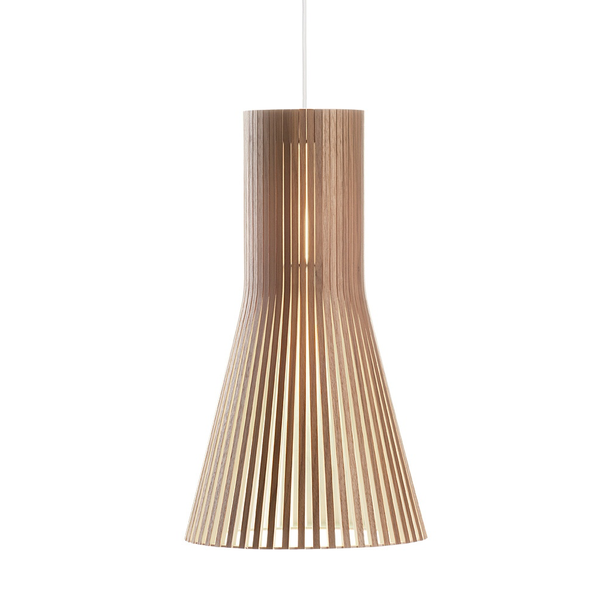 Secto Design - Secto 4201 Pendant - Walnut Veneer / One Size - Lekker Home