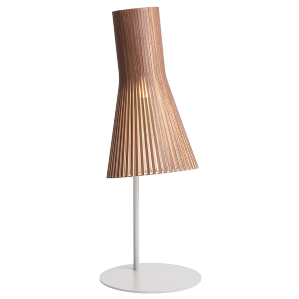 Secto Design - Secto 4220 Table Lamp - Walnut Veneer / One Size - Lekker Home