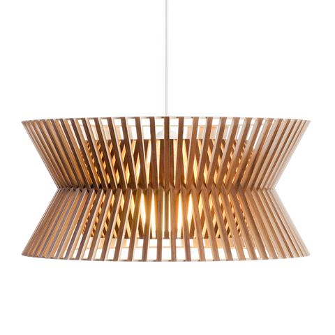 Secto Design - Kontro 6000 Pendant - Natural Birch / One Size - Lekker Home