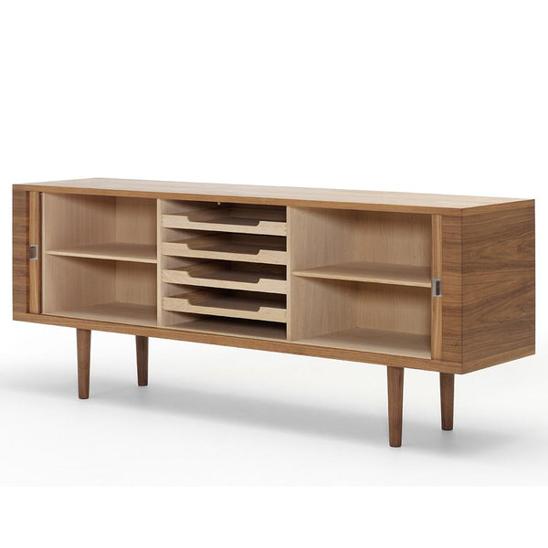 Carl Hansen - CH825 Credenza - Oiled Oak / Solid Wood - Lekker Home