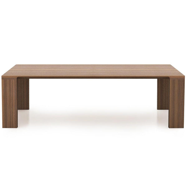 "Bensen - Radii Dining Table - American Walnut / 79"" - Lekker Home"