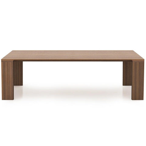 "Bensen - Radii Dining Table - White Oak / 110"" - Lekker Home"