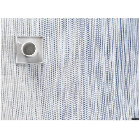 "Chilewich - Wave Placemat - Blue / 14"" x 19"" - Lekker Home"
