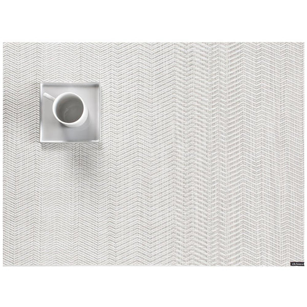"Chilewich - Wave Placemat - Grey / 14"" x 19"" - Lekker Home"