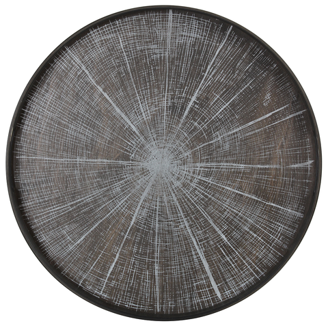 Notre Monde - Slice Round Tray - White / Small - Lekker Home