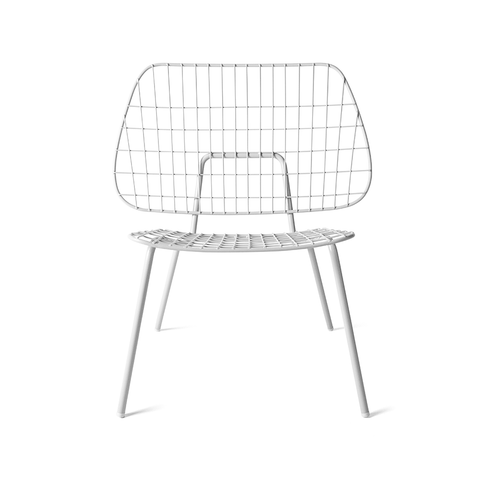Menu A/S - WM String Lounge Chair  Set of 2 - White / Set of 2 - Lekker Home