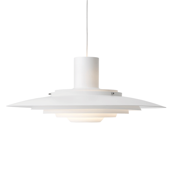 &Tradition - P376 Pendant - Matte White / KF2 - Lekker Home