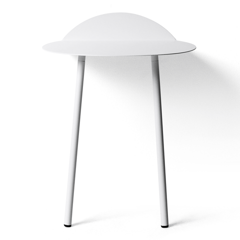 Menu A/S - Yeh Wall Table - White / Low - Lekker Home