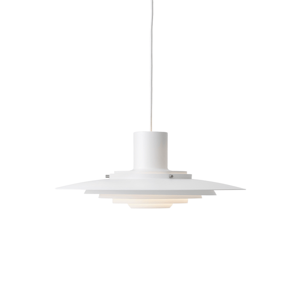 &Tradition - P376 Pendant - Matte White / KF1 - Lekker Home