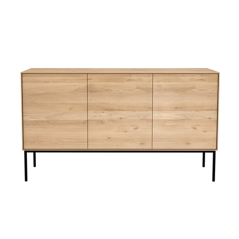 Ethnicraft NV - Whitebird Sideboard - One color / 2 Doors + 3 Drawers - Lekker Home