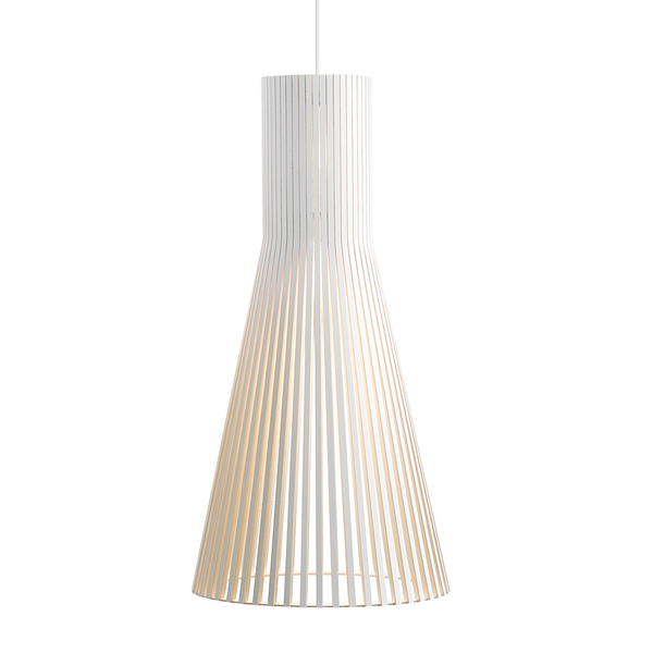Secto Design - Secto 4200 Pendant - White Laminated / One Size - Lekker Home