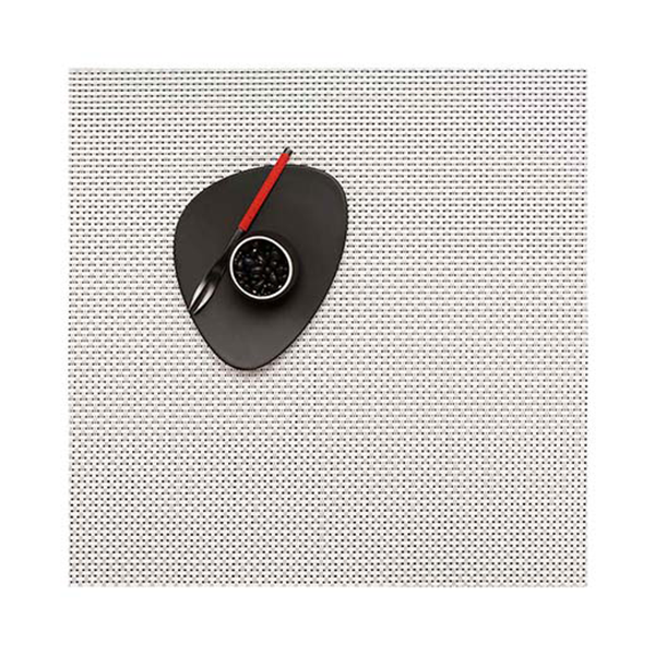 Chilewich - Basketweave Placemat - White / Square - Lekker Home