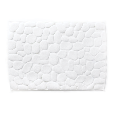 Yoshii Towel - Pebbles Bath Mat - Charcoal / One Size - Lekker Home