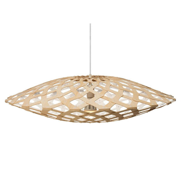 David Trubridge - Flax Pendant - Natural / White / 800 - Lekker Home