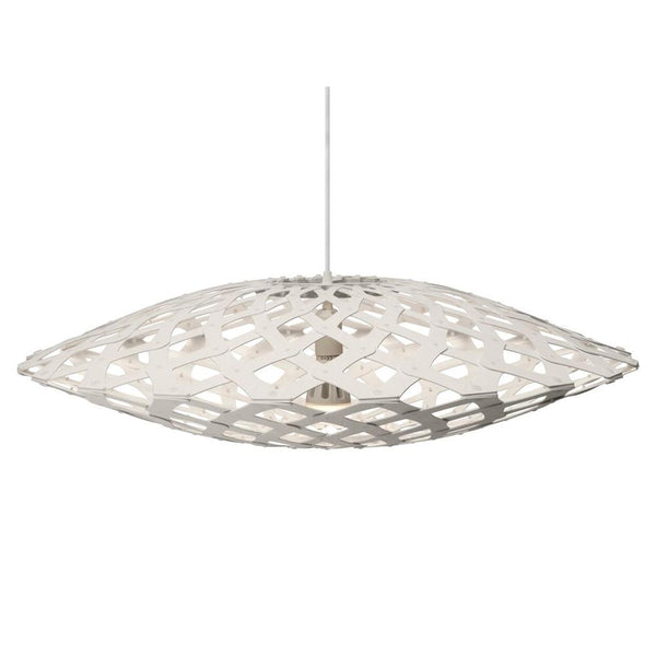 David Trubridge - Flax Pendant - White / White / 800 - Lekker Home